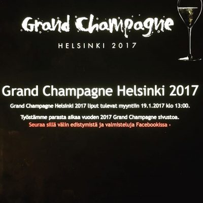 You don't see what I see, but soon you will🍾 see more www.facebook.com/grandchampagnehelsinki/